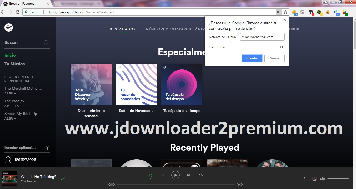 ▷ Spotify Premium Accounts X60 [August 18, 2019