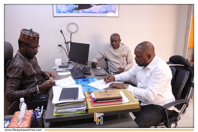 Popular Showbiz Entrepreneur Amb. Kingsley Amafibe Signs Business Contract With Lifestyle Hub as Executive Corporate Representative and Brand Influencer
