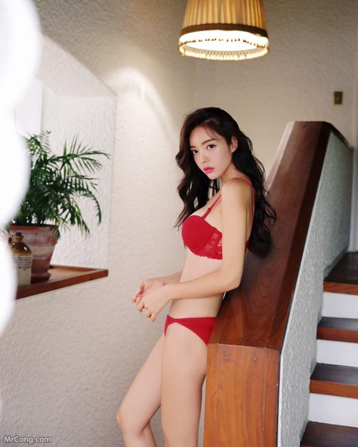 Image Jin-Hee-MrCong.com-016 in post Người đẹp Jin Hee tạo dáng đầy quyến rũ trong bộ sưu tập thời trang nội y (642 ảnh)