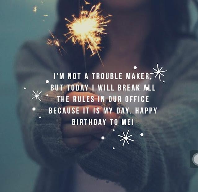 Funny Birthday Wishes for Myself - Birthday Wishes and Birthday Prayers For Myself