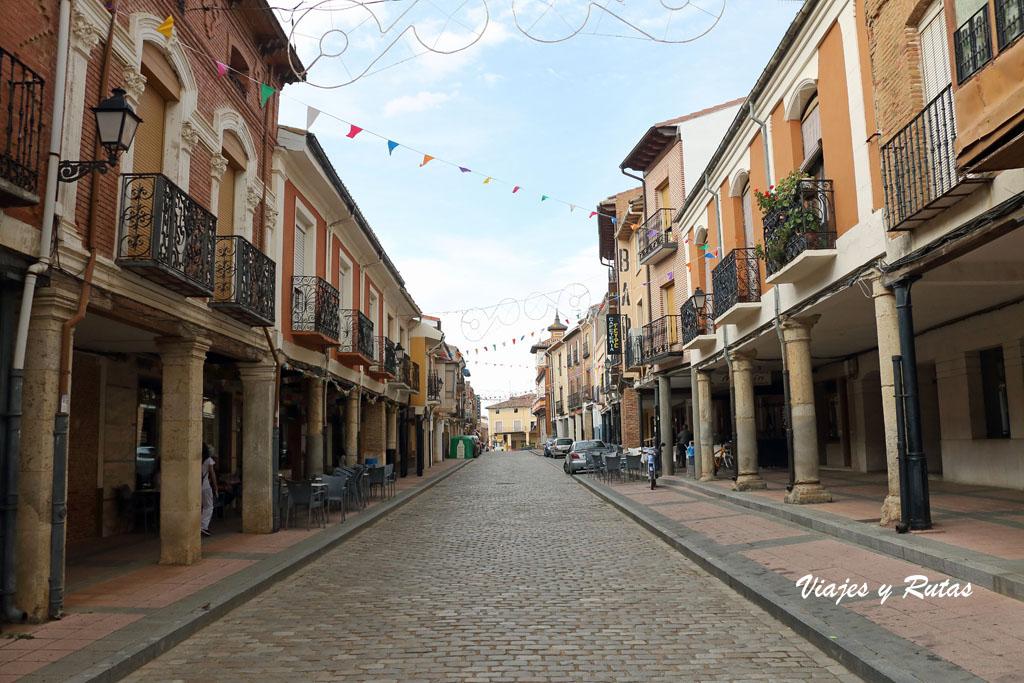 Calle Rúa de Villalón de Campos