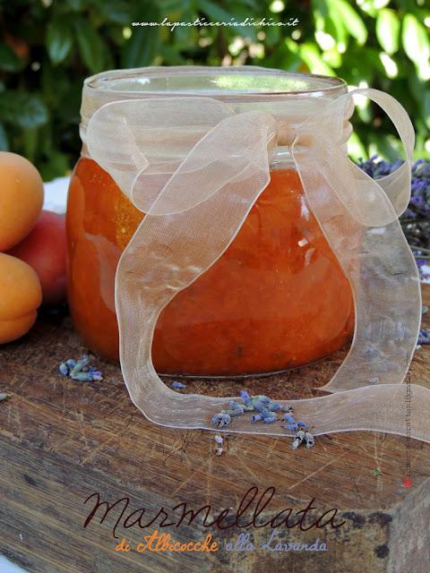 Marmellata di albicocche alla lavanda - www.lapasticceriadichico.it