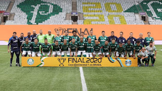 Palmeiras bate Grêmio e leva a Copa do Brasil