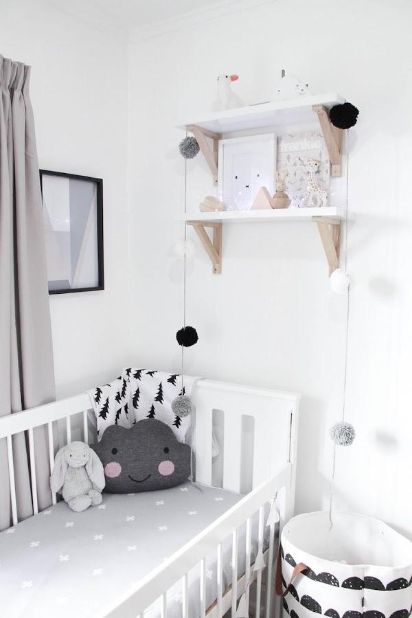 Habitaciones infantiles de estilo nórdico o escandinavo