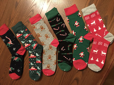 BONANGEL CHRISTMAS NOVELTY SOCKS
