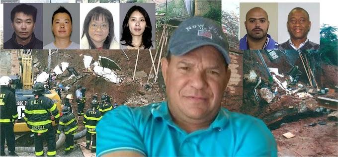 Ejecutivos chinos y empleados de constructoras acusados de homicidio por muerte de dominicano sepultado por derrumbe de pared