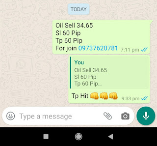 26-05-2020 Forex Trading Commodity Crude Oil Signal Prices