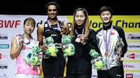 BÁDMINTON - Mundial 2019 (Basilea, Suiza): Momota domina y defendió el título. P.V. Sindhu por fin se desquita con el oro mundial