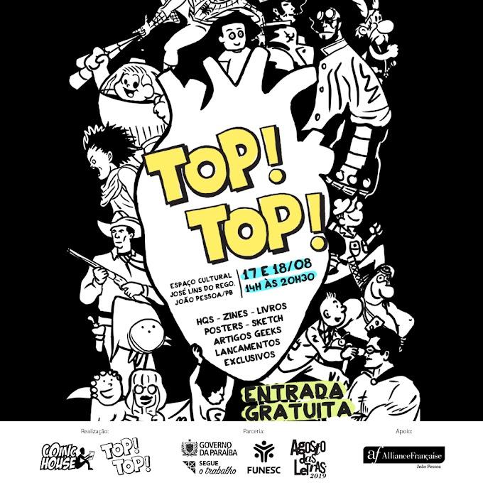 Cartaz Oficial da Top! Top! 2019