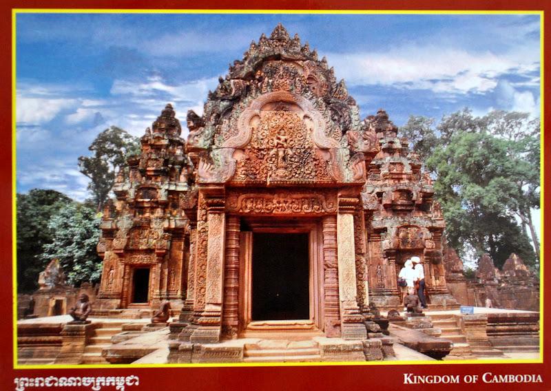 zabytki kambodża