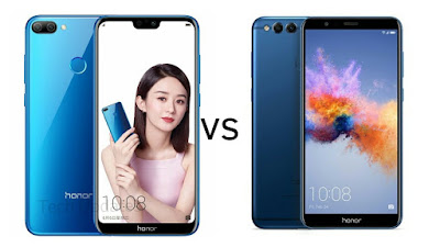 Honor 9N vs Honor 7X