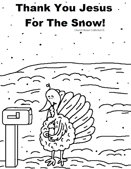 Church House Collection Blog: Thank You Jesus For The Snow