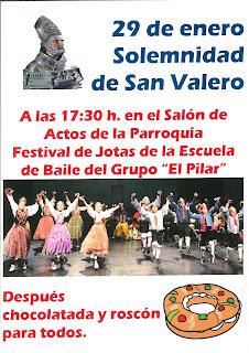 San Valero: Festival de jotas