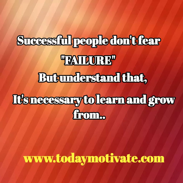 Success and failure quotes