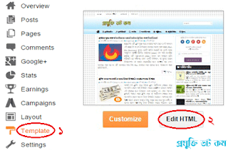 Blogger Template Editor