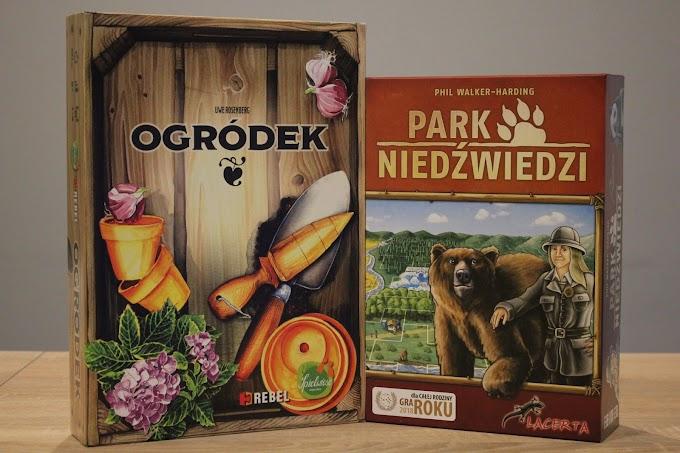 Ogródek czy Park Niedźwiedzi? - porównanie rodzinnych gier kafelkowych