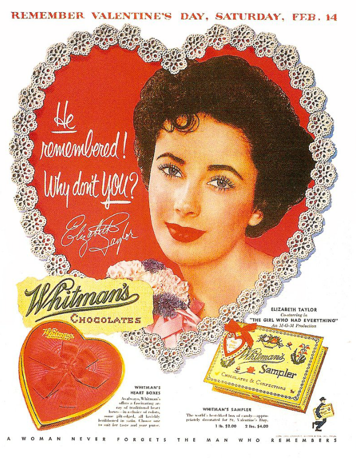 Elizabeth Taylor, Candy, Valentine