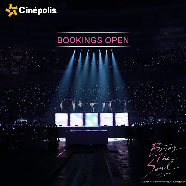 Catch the Global K-pop heartthrobs 'Beyond the Scene', dazzle the silver screen at Cinépolis
