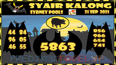 Prediksi Togel Kalong Sidney Selasa 21 September 2021