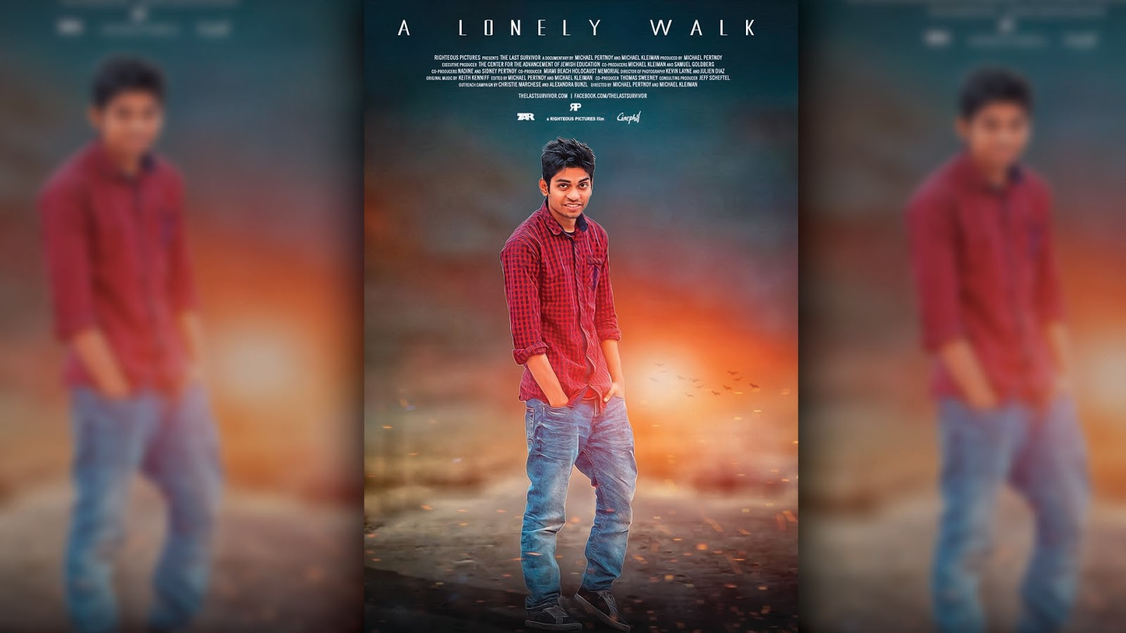 How to design a film poster in photoshop cc make perfect feel real how to design a film poster in photoshop cc baditri Gallery