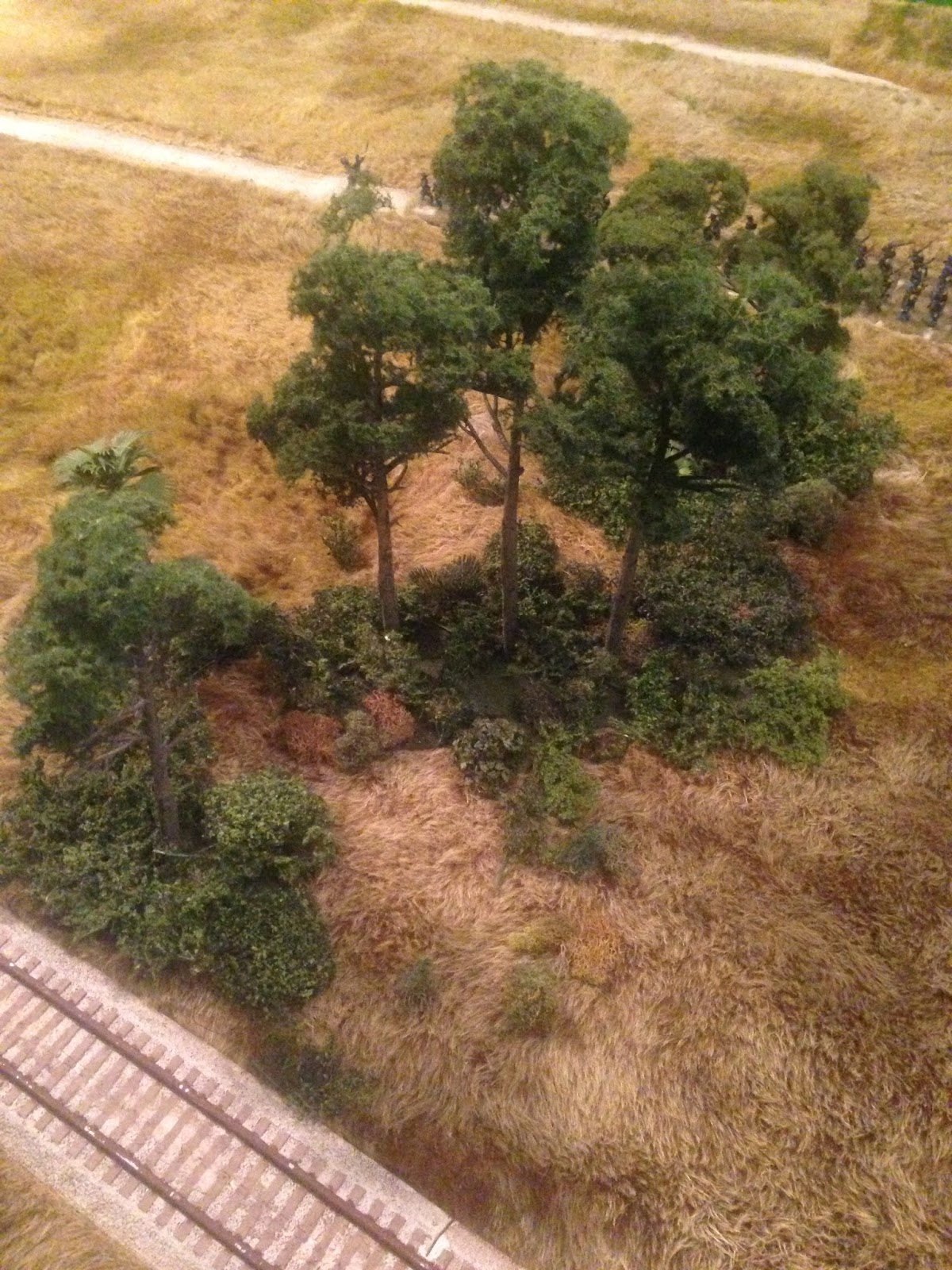Miniature Wargaming with Spudnick: Terrain Blitz: Southern Pine Trees