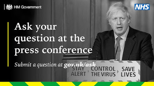Ask your question at the press conference gov dot uk forward slash ask