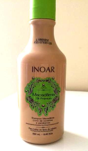 shampoo macadamia inoar resenha