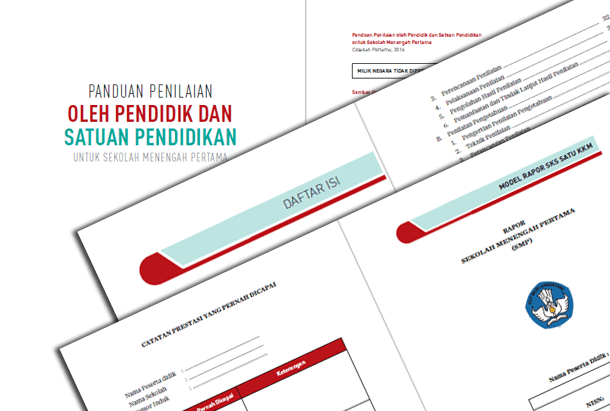 Buku Panduan Penilaian SMP Kurikulum 2013 dan Permendikbud Nomor 23 Tahun 2016 Tentang Standar Penilaian Pendidikan