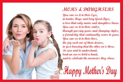 poems for mom from daughter for mother's day
