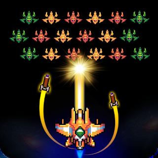 Galaxiga – Classic 80s Arcade Space Shooter Mod v11.6 Apk