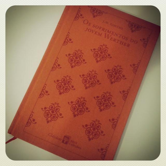 Os sofrimentos do jovem Werther foi o livro de estreia do romantismo (Foto: Instagram/Aline Lima)