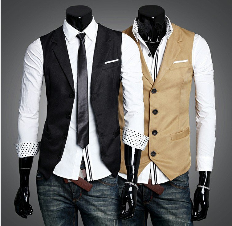 Find great deals on eBay for mens dress waistcoat. Shop with confidence. Skip to main content. eBay: out of 5 stars - SET Vest Tie Hankie Fashion Men's Formal Dress Suit Slim Tuxedo Waistcoat Coat (18) [object Object] $ Buy It Now. Free Shipping. Guaranteed by Mon, Oct.