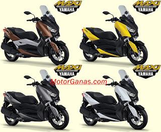 Pilihan WArna Yamaha XMAX 250cc