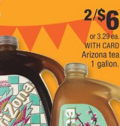 Arizona Tea 1 Gallon