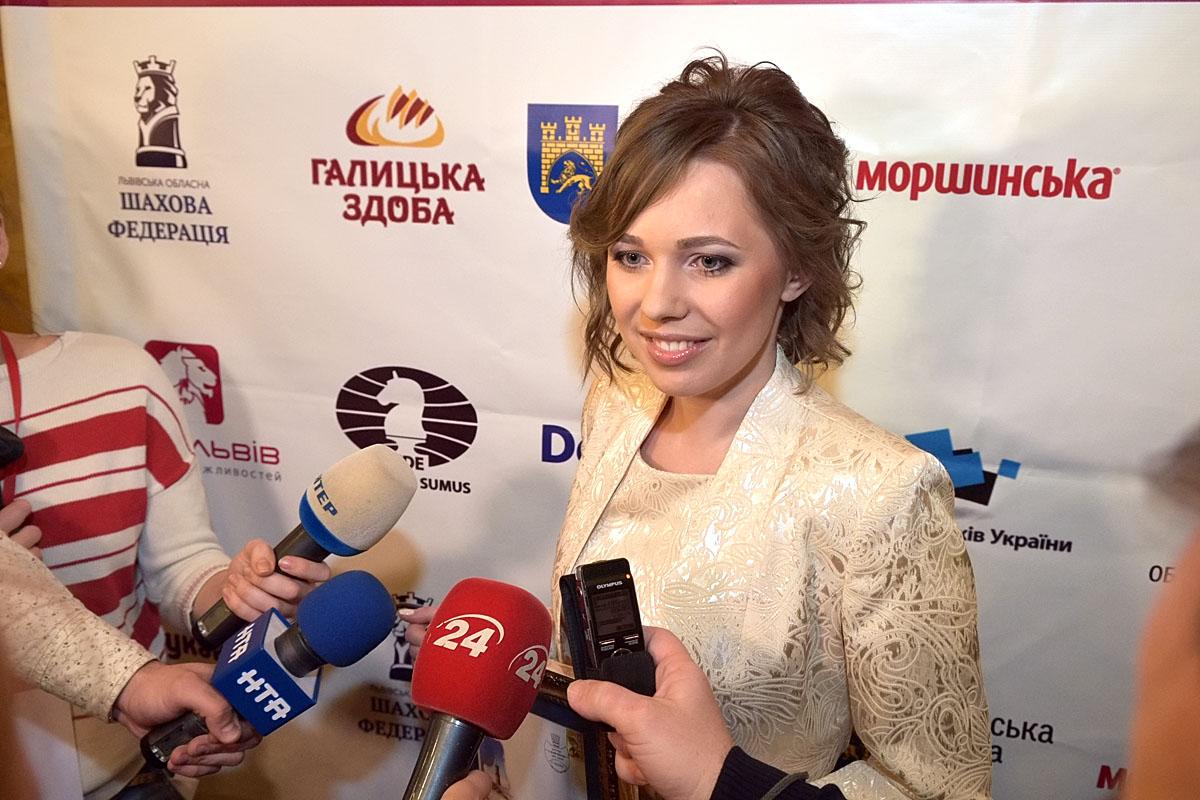 L'Ukrainienne Mariya Muzychuk défend son titre