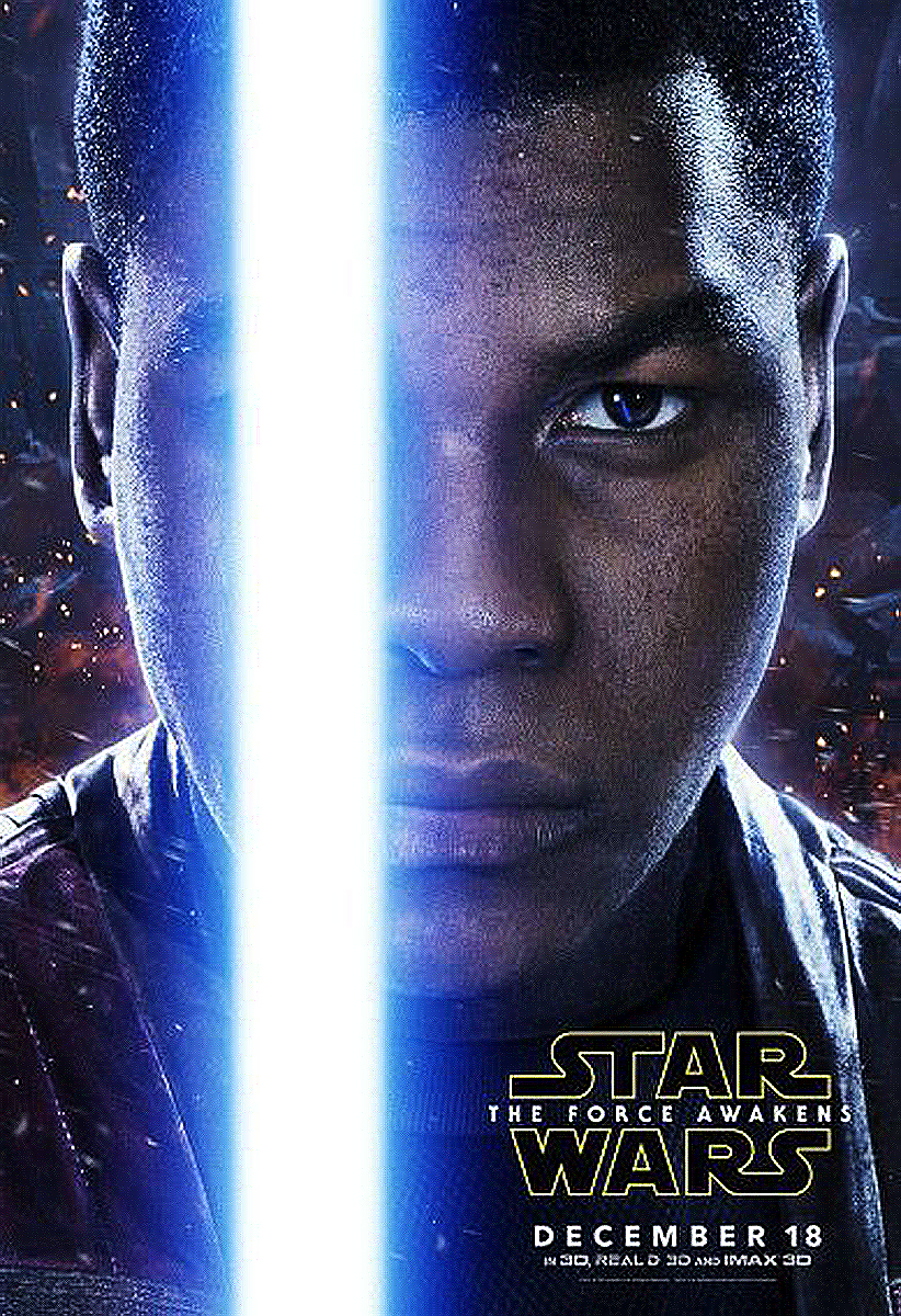 Poster Star Wars The Force Awakens: Finn