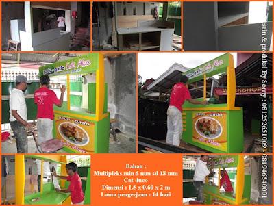 Jasa Pembuatan Stand Booth Pameran Kitchen Set Dan Rombong