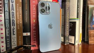 IPhone 13 Pro Max là đắt nhất và có kích thước lớn nhất. Ảnh: Todd Haselton / CNBC