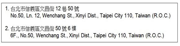 How To Translate Taiwan Postal Address Into English