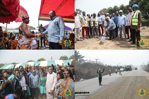 """Development Being Spread Equitably In New Regions"" – President Akufo-Addo"