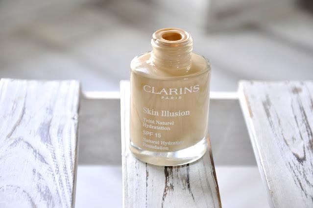 recenzja podkładu clarins skin illusion