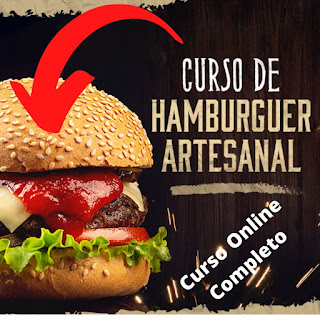 Curso de Hambúrguer Artesanal Completo - Online