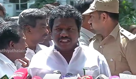 Karunas urges to set up the Cauvery Management Board immediately | #AllPartyMeet #CauveryIssue