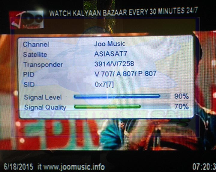 Watch Live Joo Music Tv Indian Channels