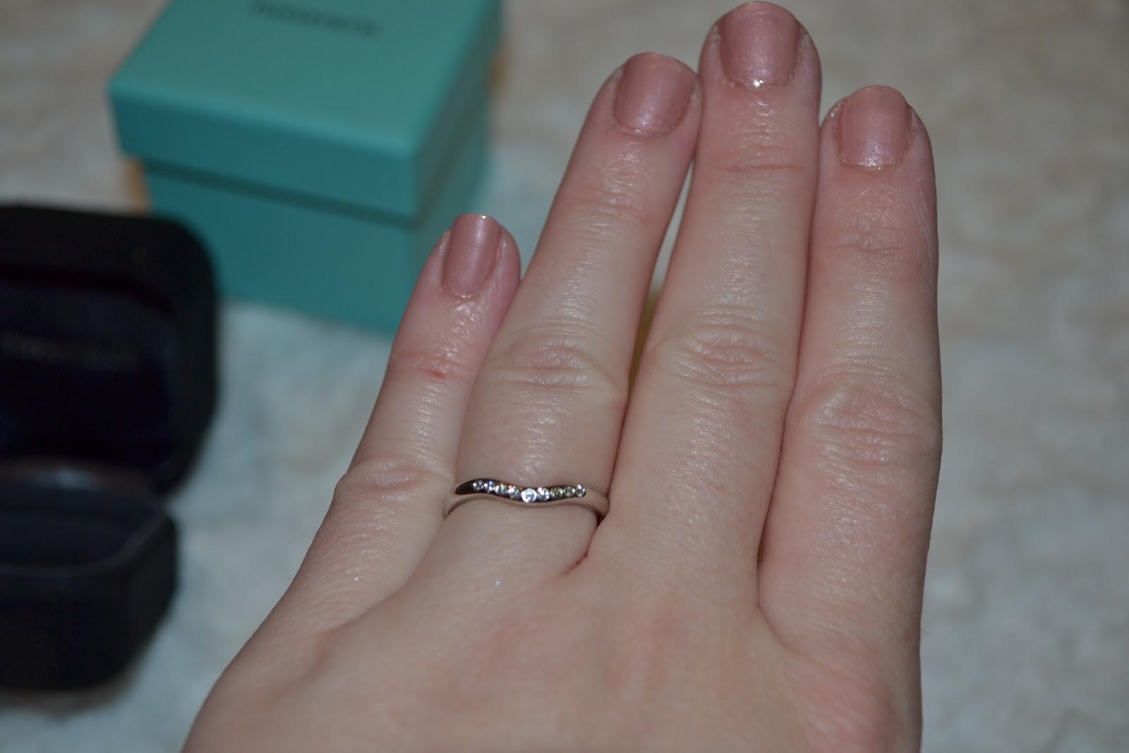 Tiffany Elsa Peretti Wedding Ring