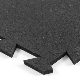 Greatmats rubber tile 8mm interlocking