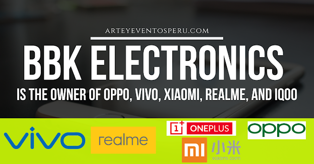 BBK Electronics is the owner of Oppo, Vivo, Xiaomi, Realme, and iQOO all these smartphone companies.