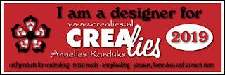 http://www.all4you-wilma.blogspot.com I am a designer for Crealies 2019