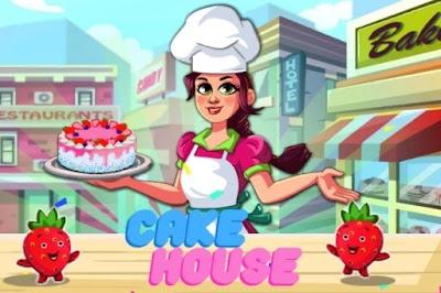 العاب طبخ كيك البندق - لعبة Cake House