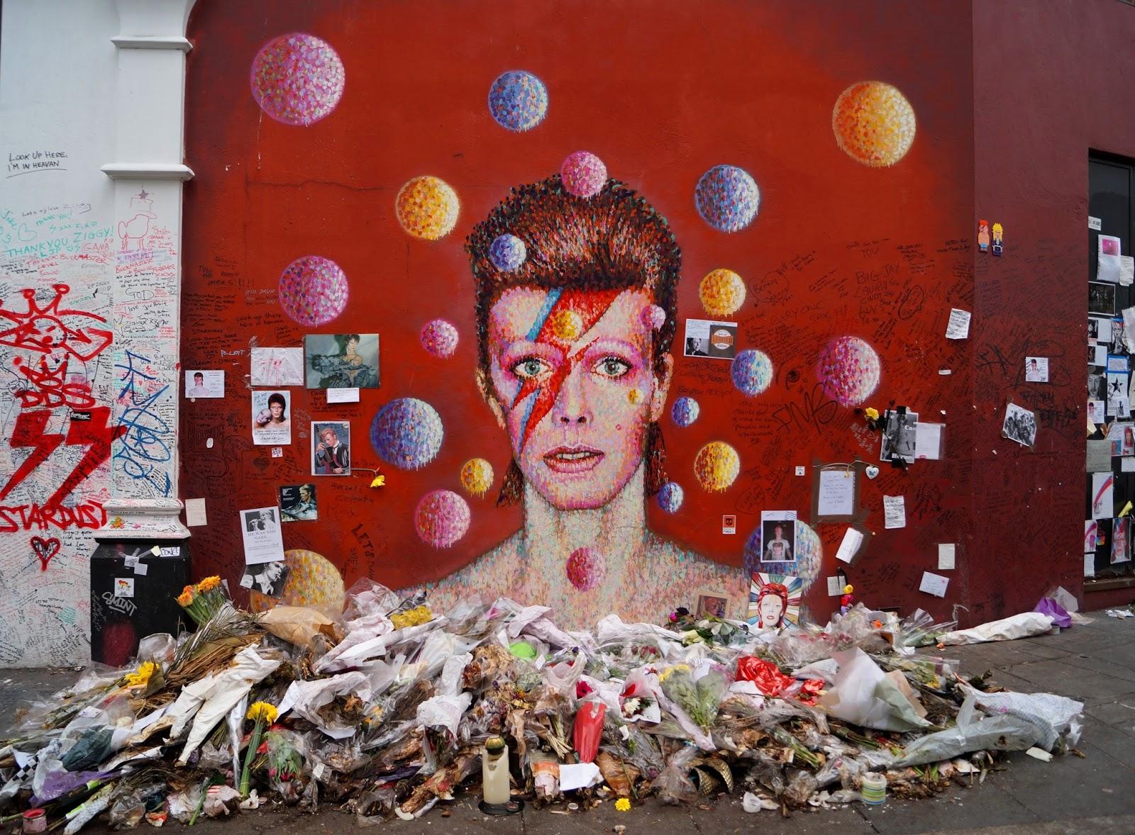 Bowie mural, Marleys